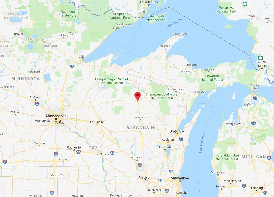 Tomahawk Wisconsin Map.Tomahawk Community Information Northwoods Community Realty