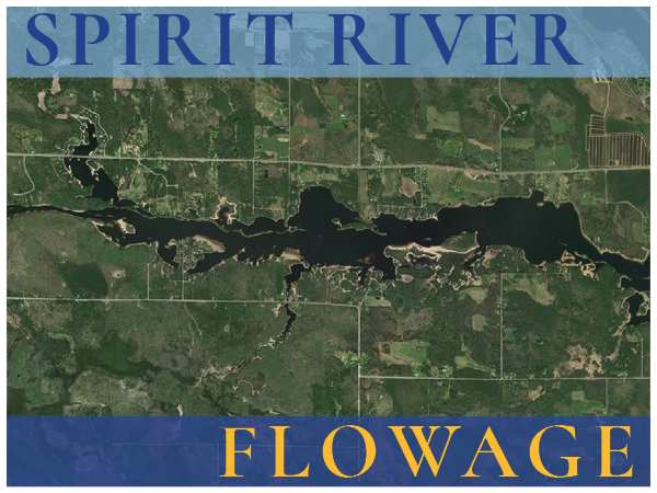 Waterfront real estate on the Spirit Flowage