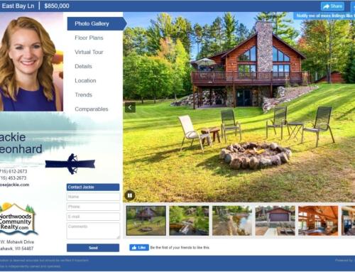 Tomahawk Lakeside Log Home