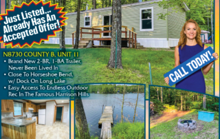 N8730 County B - Call Jackie Leonhard for Lakefront homes, waterfront lots, lakeside cabins, off water houses, hunting land, commercial property, and all MLS listings for sale in Northern Wisconsin. Call Northwoods Community Realty for all your real estate needs. Whether you're a first time home buyer or you're looking for a vacation home from Lake Nokomis to Lake Minocqua, call Tomahawk's leading real estate office or visit NorthwoodsCommunityRealty.com.