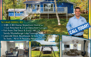 N11460 Dereg Rd, Tomahawk - Call Keith Hanse for Lakefront homes, waterfront lots, lakeside cabins, off water houses, hunting land, commercial property, and all MLS listings for sale in Northern Wisconsin. Call Northwoods Community Realty for all your real estate needs. Whether you're a first time home buyer or you're looking for a vacation home from Lake Nokomis to Lake Minocqua, call Tomahawk's leading real estate office or visit NorthwoodsCommunityRealty.com.